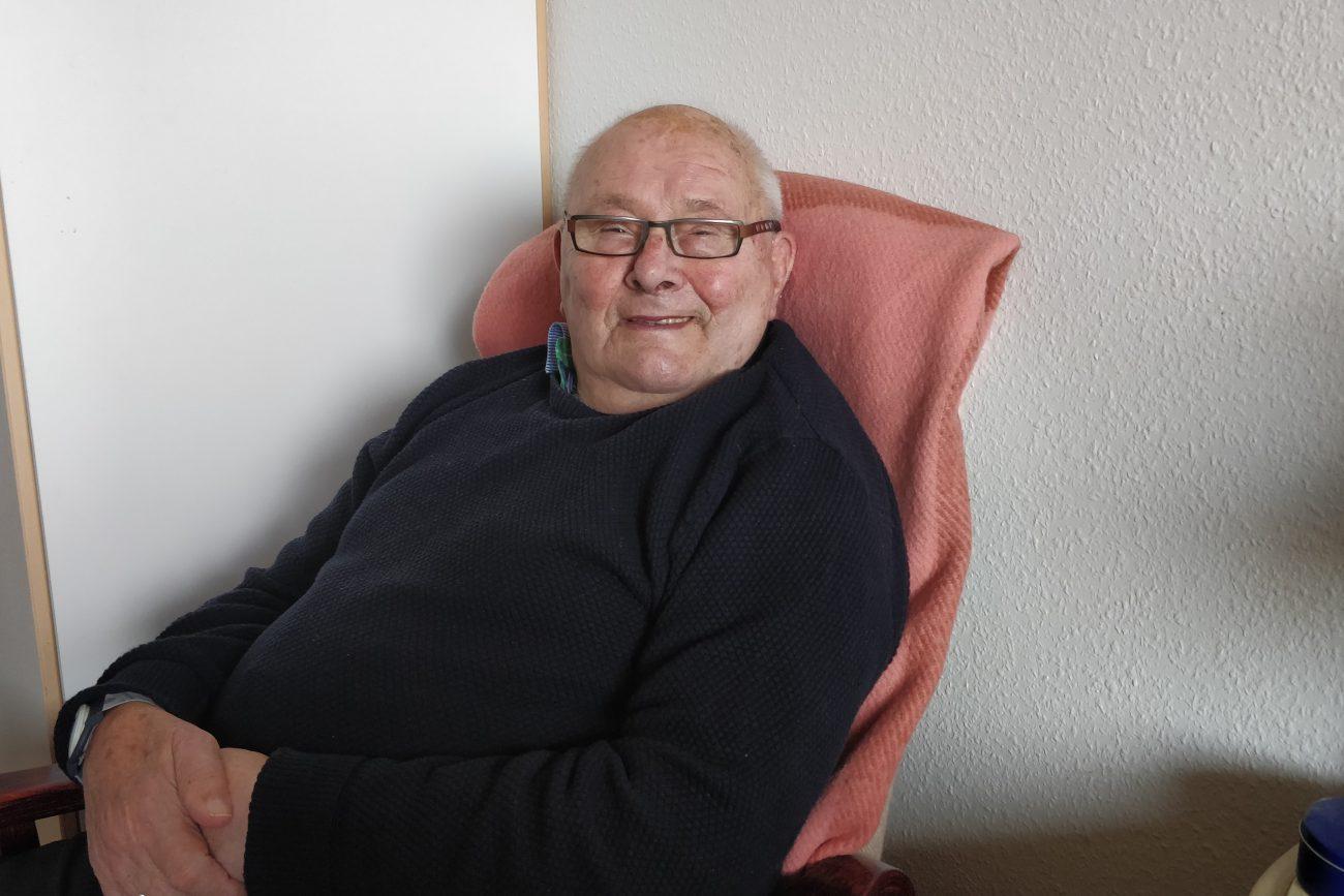Gunnar i sin lænestol