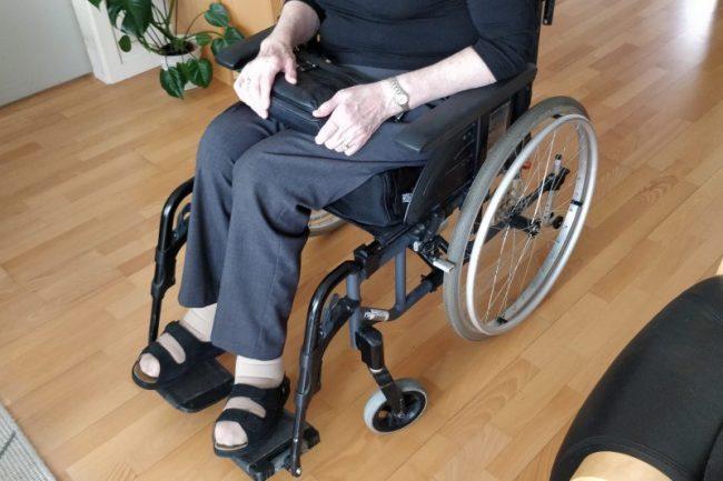 Kørestolsbruger i Rea Spirea4NG