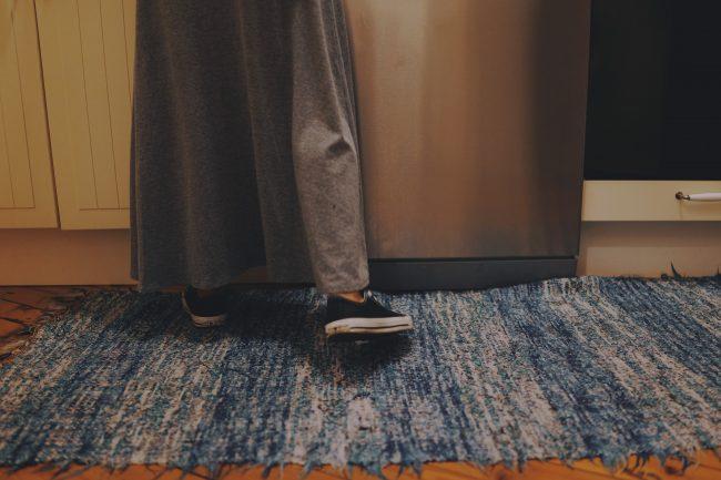 Tæpper kan være faldfælder