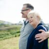 Ældre mand og kvinde