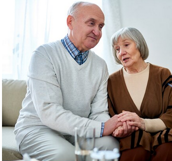 Ældre person med demens