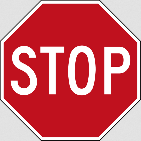STOP - hold en pause