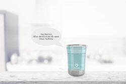 ZiboCup, den talende kop